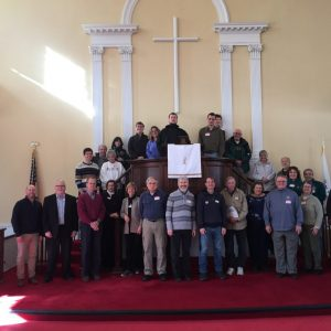 First Congregational Church, Cheshire group photo. January 20, 2020 MLK Day organ crawl