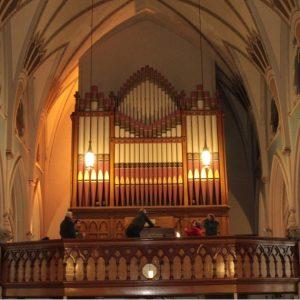 1892 3 manual Johnson Organ, Sacred Heart Church, Waterbury (now closed)