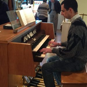 Michael Petruzzi at St. Peter's Episcopal Church, Cheshire