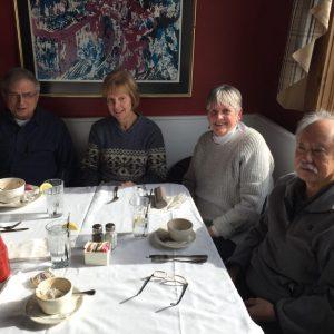 Paul, Diane, Toni, Bill Victorian House, Cheshire