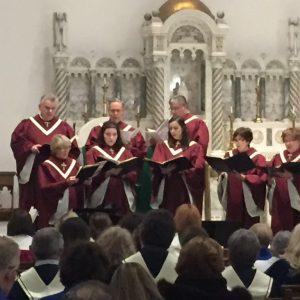 St. Andrew Lutheran Church choir, Gwynne Hopko, director