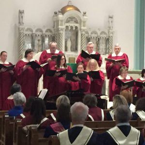 St. Joseph Church choir, Jean Degan, director